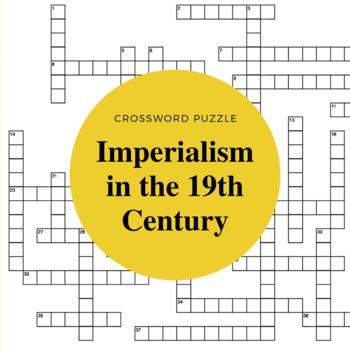 19th Century Imperialism Crossword Puzzle