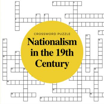 19th Century Nationalism Crossword Puzzle