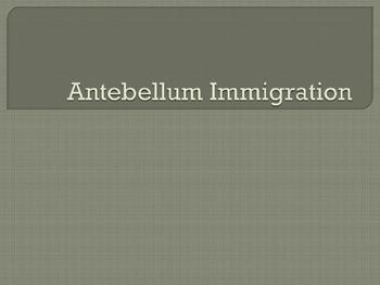 19th Century U.S. Immigration