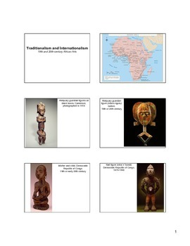 19th and 20th Century African Art