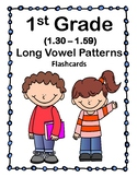 1st Gr 1.30-1.49 Long Vowel Patterns Cards (Aligned to American Reading Co IRLA)
