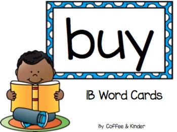 1B Power Words Big Cards (IRLA)
