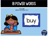 1B Power Words IRLA aligned
