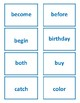 1st Grade 1.30-1.59 Tricky Words Cards (Aligned to American Reading Co IRLA)
