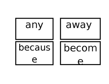 1B Tricky Words Flashcards