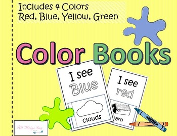 Learn Your Colors 3 Color Books
