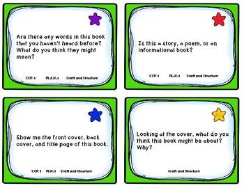 Kindergarten Comprehension Task Cards Alligned to American Reading Co.