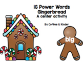 1G Gingerbread Write the Room (IRLA)