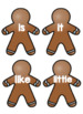 1G Gingerbread Write the Room (IRLA)