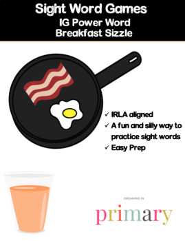 1G Power Word Breakfast Sizzle