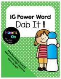 1G Power Word Dab It