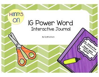 1G Power Word Interactive Journal