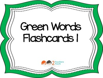 1G Power Words Flashcards from IRLA