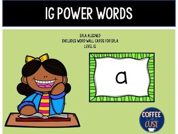 1G Power Words (IRLA)