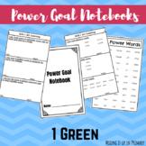 1G Reading Level Power Goal Notebook