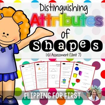 1.G.1 Distinguishing Attributes of Shapes