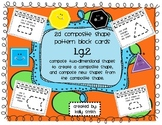 1.G.2 Composite Shape Pattern Block Task Cards