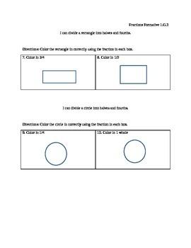 1.G.3 Fraction assessment