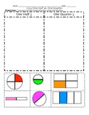 1.G.3 Partitioning Shapes