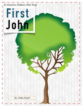 1John Interactive Children's Bible Study