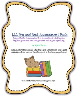 1.L1 Pre and Post Assessment Pack