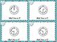 1MD.3 Task Cards Telling Time Analog Clocks