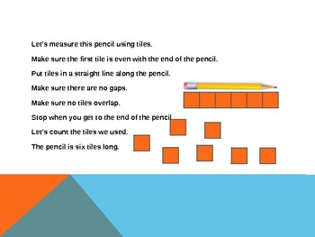 1.MD.2 Common Core First Grade Math - Measuring with Nonstandard Units