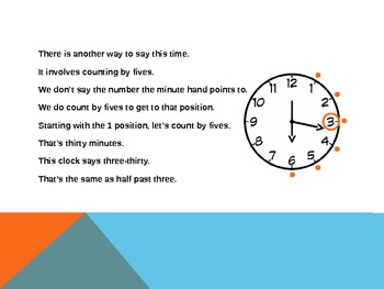 1.MD.3 Common Core First Grade Math - Telling and Writing Time