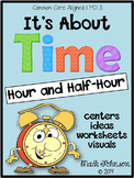 1.MD.3  It's About Time: Hour and Half-Hour