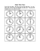 1MD3 - Time - Activities, Games and Worksheets