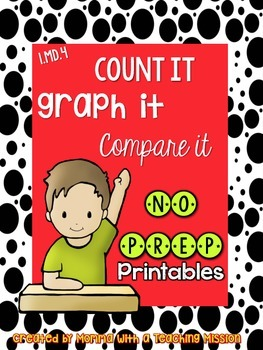 1.MD.4 Graphing NO Prep Printables