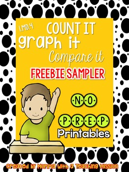 1.MD.4 Graphing NO Prep Printables Freebie
