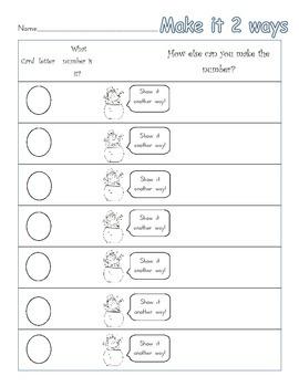 1.NBT Place Value practice for 1st grade Common Core leprechaun theme