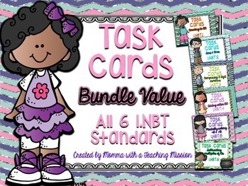 1.NBT Task Cards BUNDLE Value