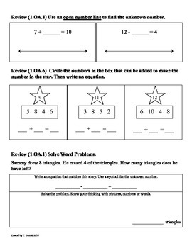 (1.NBT.1) Count to 60 -1st Grade Common Core Math Worksheets-2nd 9 Weeks