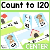 1.NBT.1 Counting to 120 Math Center