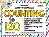 1.NBT.1 Counting to 120  {Ideas, Activities, Task Cards, a