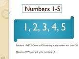 1.NBT.1 Number Sense Introduction Pack (1-20)