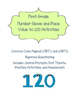 1.NBT.1 Number Sense and Base Ten to 120