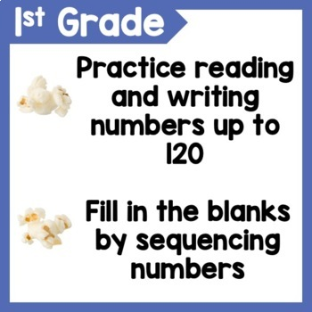 Counting to 120 Number Sense Game