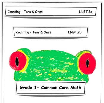 1.NBT.2a & 1.NBT.2b Grade 1 Common Core Math