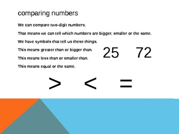1.NBT.3 Common Core First Grade Math - Comparing Numbers