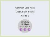 1.NBT.3 Exit Tickets