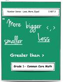 1st Grade Math Worksheets - 1.NBT.3