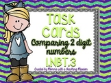 1.NBT.3 Task Cards Comparing 2 digit numbers