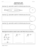 (1.NBT.4) Add within 100 -1st Grade Common Core Math Worksheets-3rd 9 Weeks