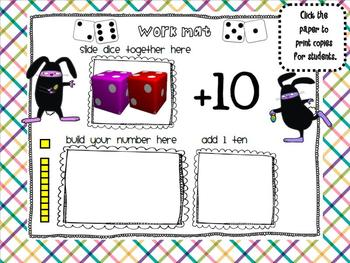 1.NBT.4 Adding 10 to any number SMARTBoard Lesson