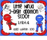 1.NBT.4 Adding 2 Digit Numbers Little Ninja SMARTBoard Les