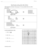 1.NBT.4 Adding within 100 First Grade Common Core Math Worksheets