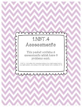 1.NBT.4 Assessments